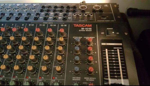 Tascam M 1016 Mixer Nice.