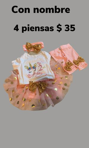 Trajes para cumpleaños personalizados for Sale in Oxon Hill, MD