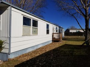 2 large bedrooms 1 bath 1973 mobile home currently under remodel will be ready in 3 weeks for Sale in Cheyenne, WY