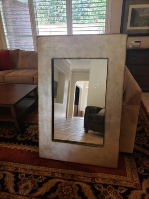 Beuatiful Pier 1 Wall Mirror in Silver and Gold for Sale in Houston, TX