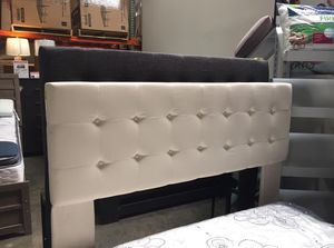 Tufted Full/Queen Headboard , Grey Available, #7509 for Sale in Downey, CA