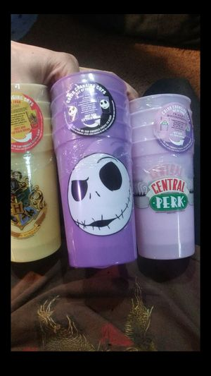 Nightmare before christmas, friends, harry potter color changing cups for Sale in Mesa, AZ