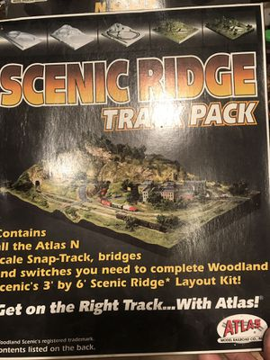 N scale train building sets and scenic set.. for Sale for sale  Chula Vista, CA