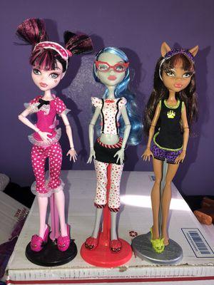 Monster high dolls for Sale in Oxnard, CA