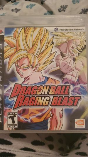 Dragon ball raging blast ps3 for Sale in San Bernardino, CA