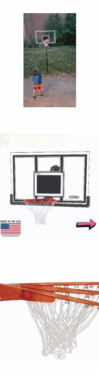 NEW Basketball Backboard Adjustable Wall Roof Portable Hoop System Sport Rim Shatterproof Polycarbonate Solid Steel Pro Slam Protective Glass*↓READ↓* for Sale in San Diego, CA