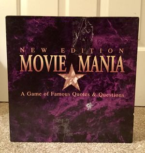Movie Mania Game for Sale in McDonough, GA