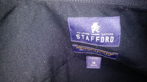 STAFFORD PERFORMAMCE. MEN'S SHIRT
