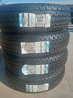 205/75/14 st trailers tires price $ 240 set of four for Sale in Santa Ana,  CA