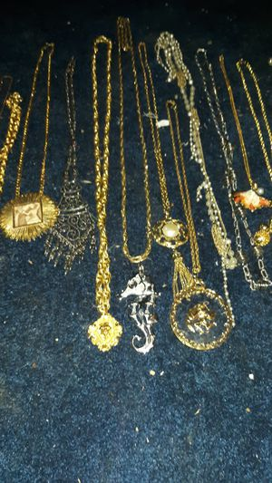 Vintage costume jewerly some expensive necklace. Take all 80$ for Sale in Woodland Hills, CA