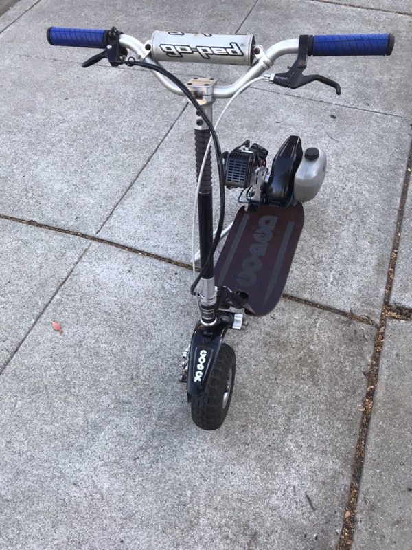 Goped Trail Ripper full-suspension scooter with BRAND NEW 29cc motor! for  Sale in Pleasanton, CA - OfferUp