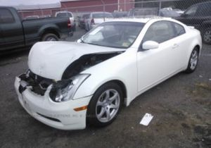 2006 Infiniti g35 coupe parts for Sale in Capitol Heights, MD