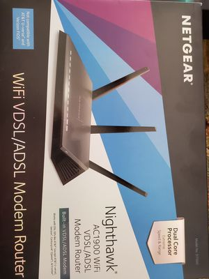 Modem router for Sale in Houston, TX