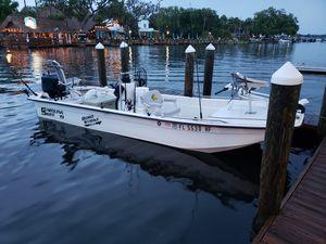 1992 J 19 Carolina skiff/ 07 mercury 75h for Sale in Weirsdale, FL
