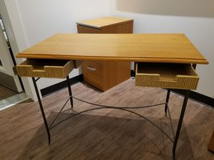 Writing Desk and File Cabinets for Sale in Millcreek, UT