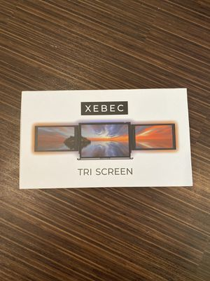 Xebec Tri Screen - external monitors, usb monitor for Sale in Durham, NC