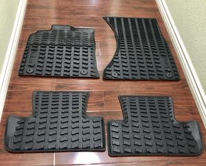 Audi Q5 OEM All weather floor mats with Q5 logo for Sale in Norco, CA