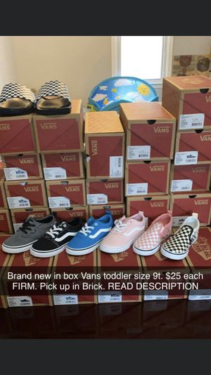 Vans must go , all different sizes and flavors for Sale in Pemberton, NJ