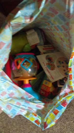 Huge bag of baby toddler toys for Sale in Portland, OR