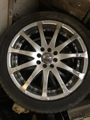 R18 four lug universal, Chrome rims for Sale in Old Bridge, NJ
