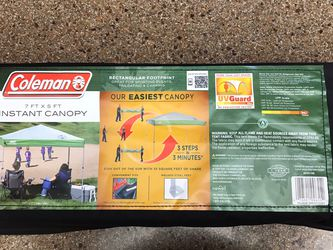 Coleman Instant Canopy 7x5 + Accessories for Sale in Vancouver,  WA