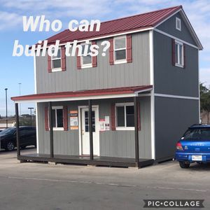 Two Story Shed for Sale in San Antonio, TX