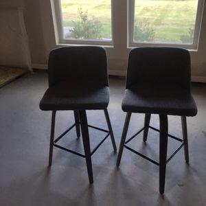 2 Grey Stools for Sale in Novi, MI
