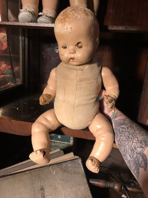 Antique Vintage 1930s Baby Doll Toy for Sale in Fort Lauderdale, FL