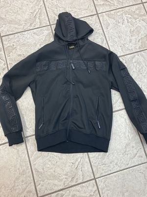 Black zip up hoodie jacket sizes small medium large XL for Sale in Los Angeles, CA
