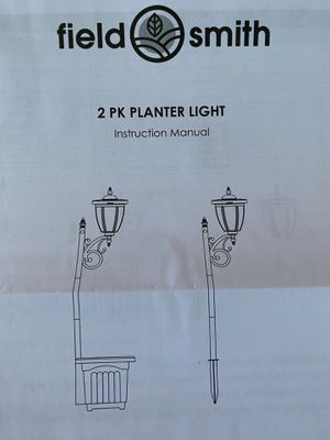 Planter Box Light for Sale in Tampa, FL