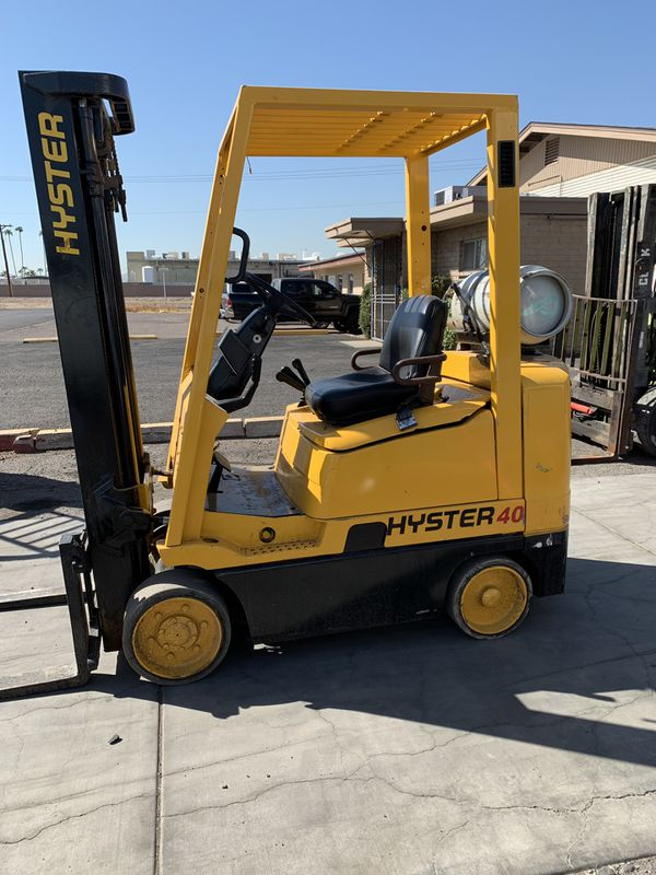 2000 Hyster S40XMS Forklift