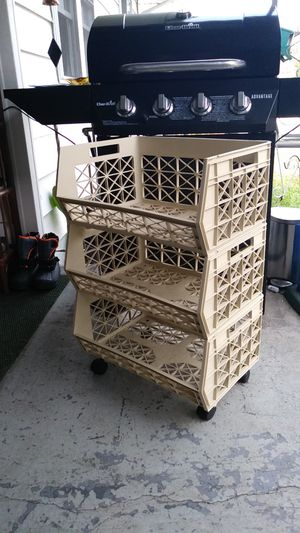Stackable storage / shelving on Wheels for Sale in Chesapeake, VA