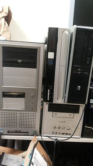 """Lot 4 used desktop pc """"as is"""" no HDD for Sale in Houston, TX"""
