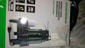 Sewage 1/2 HP Zoeller pump for Sale in Fontana, CA