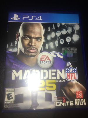 Madden 25 PS4 for Sale in Silver Spring, MD