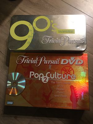 2 awesome Trivial Pursuit games (both brand new)!!!! for Sale in Pomona, CA