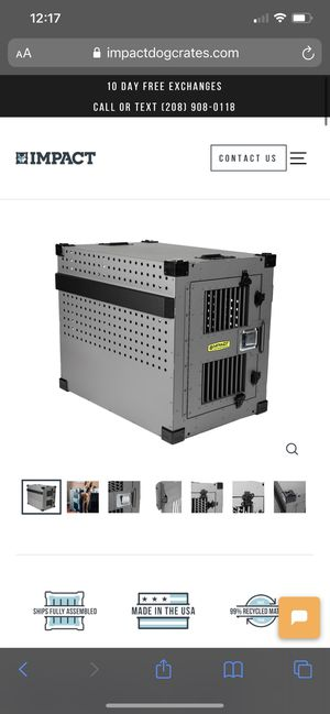 Impact dog crate high anxiety for Sale in Oceanside, CA