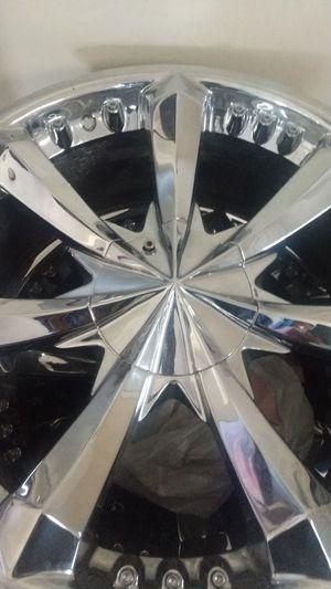 22 inch rims 6 lug for Sale in Columbia, TN