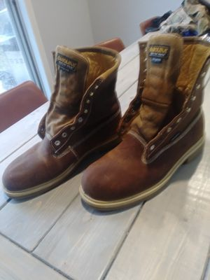Carolina waterproof work boots size 13 for Sale in Saginaw, TX