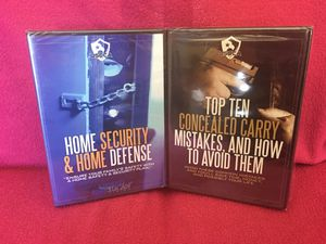 Handgun Safety Security DVD's BRAND NEW IN PACKAGE for Sale in Garden Grove, CA