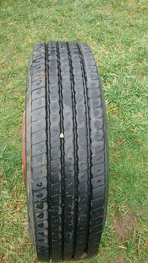 Tire 275/70R22.5 for trailer almost new for Sale in Vancouver, WA