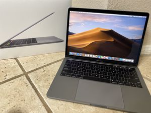 "2018 Mint 13"" MacBook Pro 8/256GB 2.3 4 core i5 w AppleCare 2/2022!!!! for Sale in Temecula, CA"