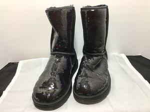 UGG Shoes | Black Sequin UGG Boots | Color: Black | Size: 9. for Sale in Fort Lauderdale, FL