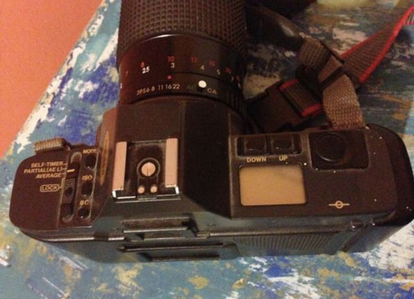 Canon T70 35 mm manual camera with 2 upgraded lenses