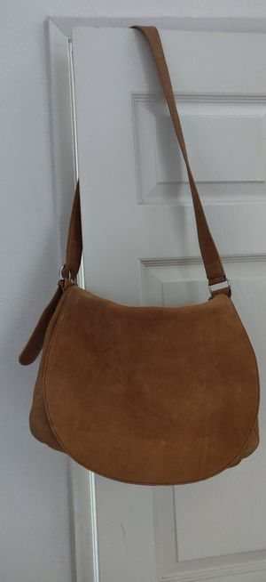 Soft leather messenger bag for Sale in San Diego, CA