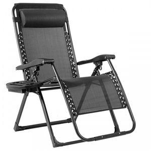 Oversize Lounge Chair Patio Heavy Duty Folding Recliner OP70265BK for Sale in Tustin, CA