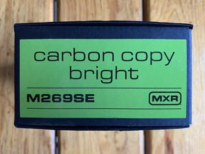MXR CARBON COPY BRIGHT M269SE ANALOG DELAY PEDAL NEW for Sale in Miami, FL