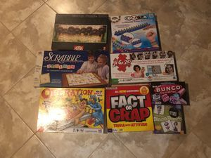 game and puzzle package for Sale in Woodinville, WA