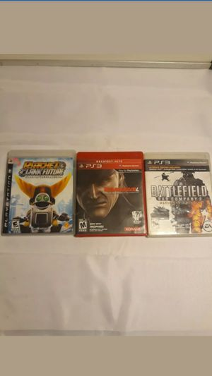 Ps3 Game Lot complete with manual for Sale in Los Angeles, CA