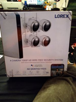 WIRELESS SECURITY CAMERA SYSTEM BY LOREX for Sale in Garland, TX